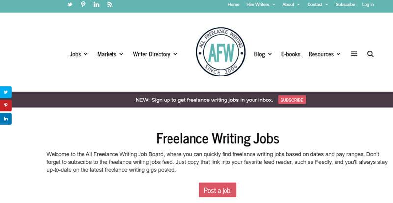 All Freelance Writing Best freelance job website to find-freelance writing jobs.