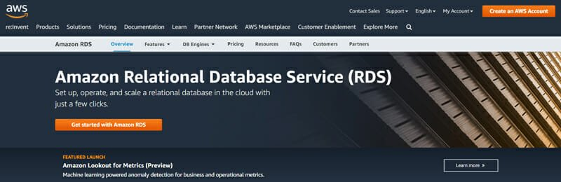 Amazon Relational Database Service (RDS) A Cost Effective Cloud Based Database Management Service for SQL Databases.