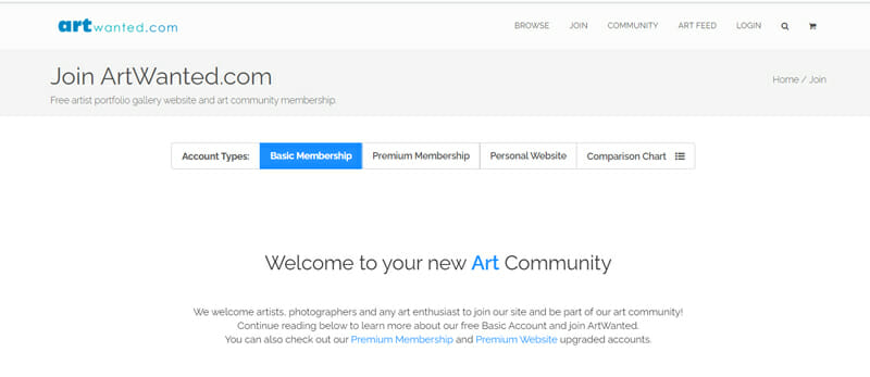 ArtWanted Best freelance job board to showcase  your best photos to potential clients.