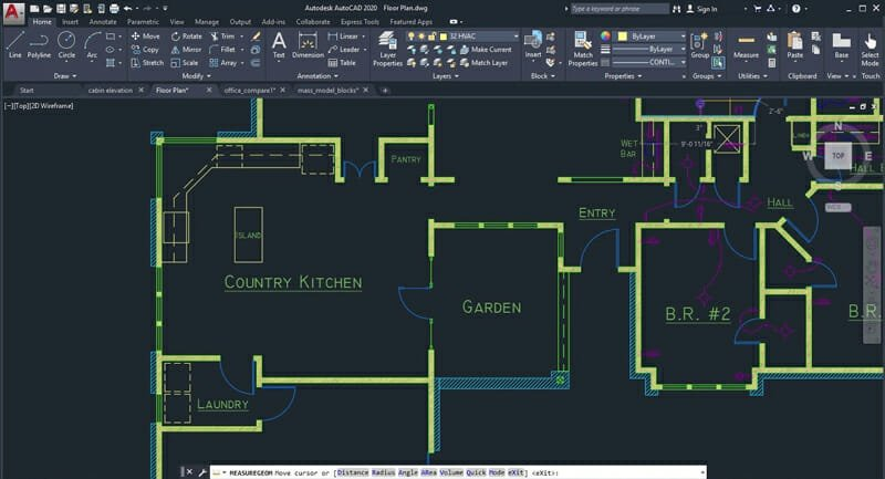 AutoCAD LT provides you with a wide ranging set of drawing, editing, and annotation tools to produce your drawings at the peak level.