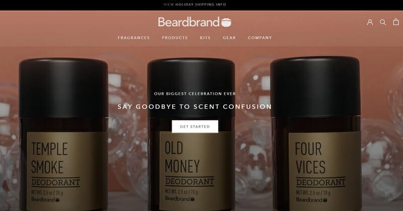 Beardbrand-Niche: Beard Growing Products