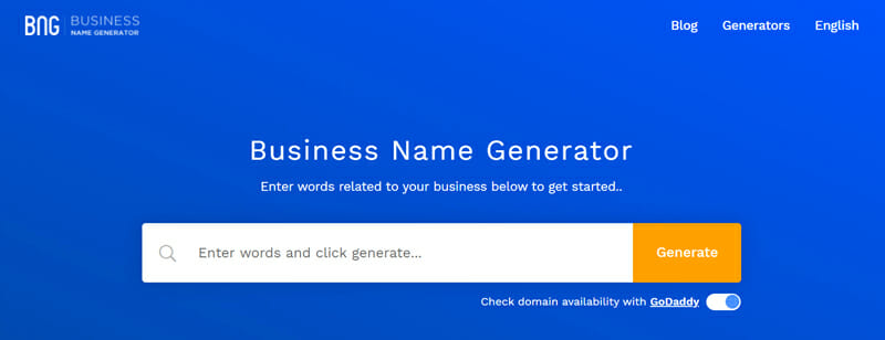 Business Name Generator Best company name to find a perfect business name for your startup.