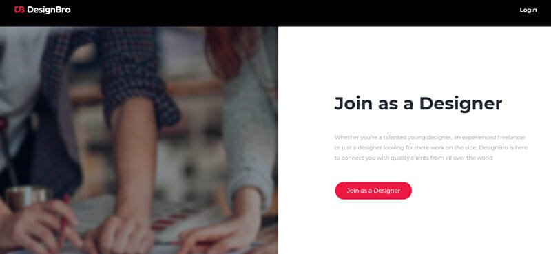 DesignBro Best freelance job board with less competition for design jobs