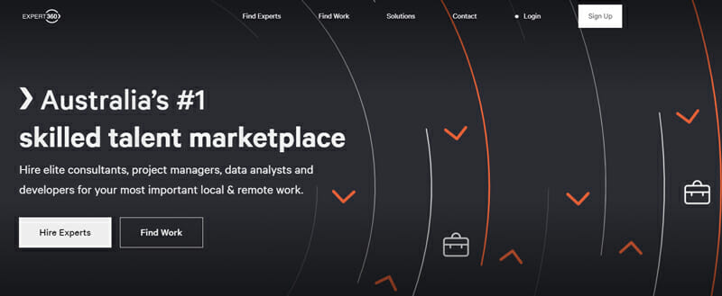Expert360 Best marketplace for management consultants to find freelance jobs in Australia.