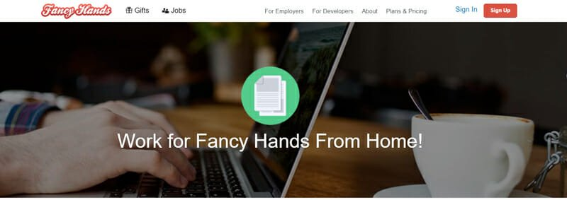 FancyHands Best freelance job platform to find virtual assistant work in the US