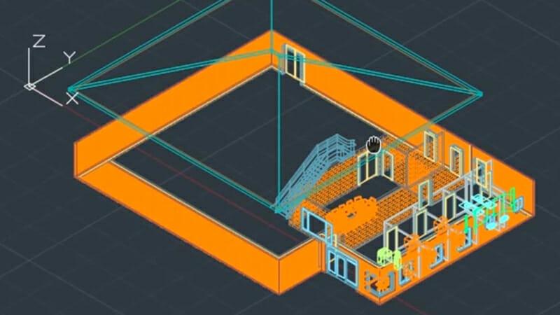 Floor design on AutoCAD Architecture
