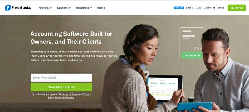 FreshBooks Best QuickBooks Alternative &,Accounting Software for the Self Employed.