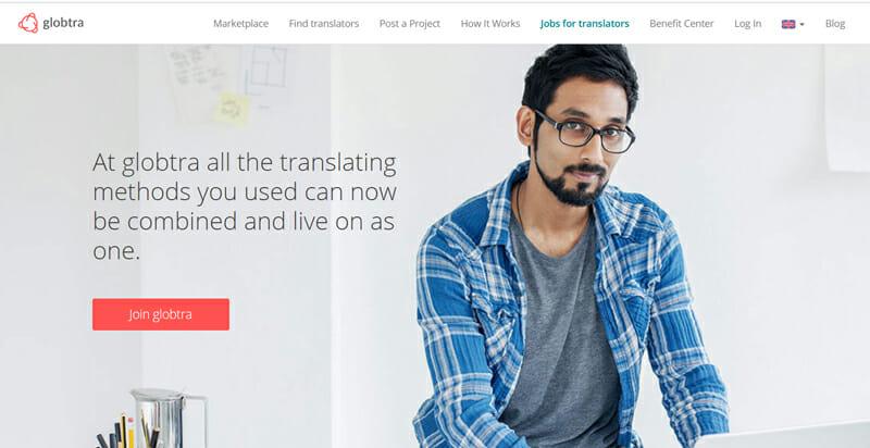 Globtra Best online platform for freelance translators to find work.
