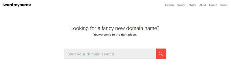IWantMyName Best company name generator to find the most captivating business name for your startup.