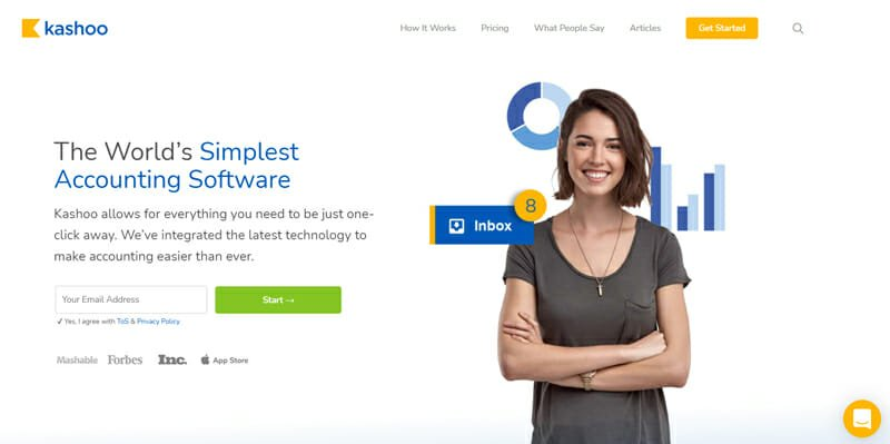 Kashoo The World's Simplest Accounting Software and Great QuickBooks Alternative.