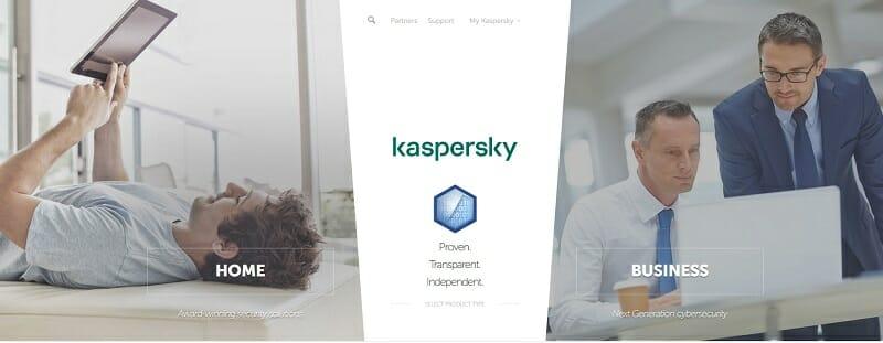 Kaspersky - antivirus software to fight ransomware