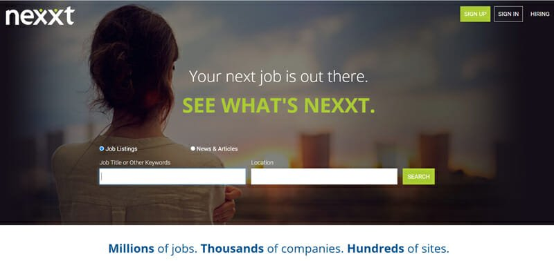 Nexxt Best job board for finance experts to find work.