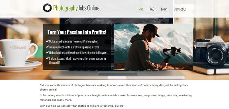 Photography Jobs Online Best freelance job board offering remote photography jobs.