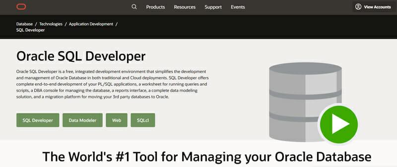 SQL Developer An Advanced Database Management Tool for Developers and Database Administrators.