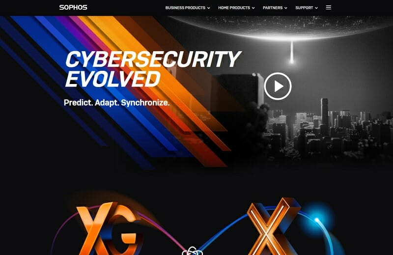 Sophos - cyber security software