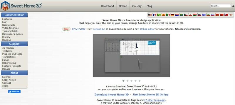 Sweet Home 3D Best Open Source Interior Design Software.