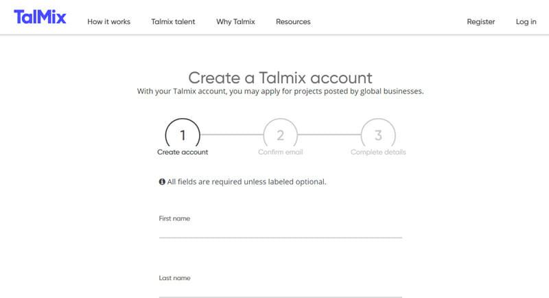 Talmix Best online platform offers freelance management roles to freelancers.
