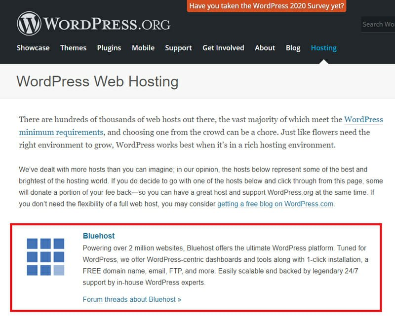 The Official WordPress.org Recommended Host