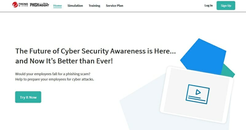 TrendMicro - homepage