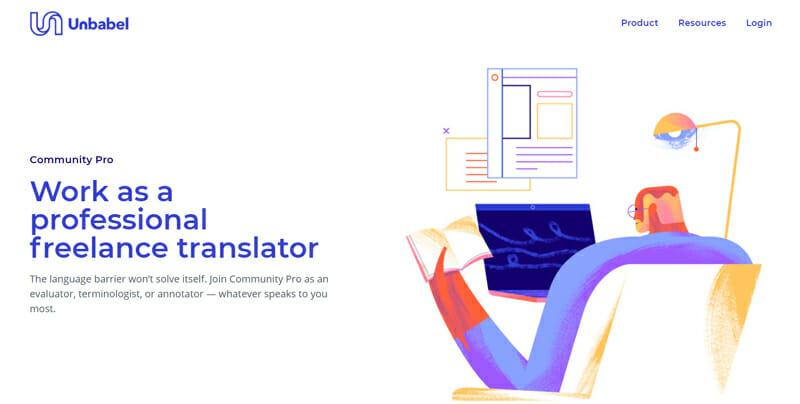 Unbabel Best online platform to find translation jobs.