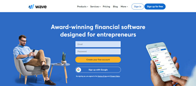 Wave Accounting Best Free Accounting Software.