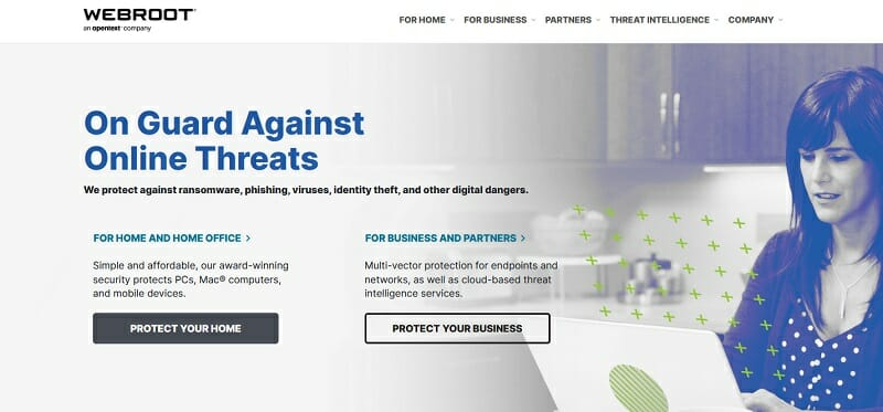 Webroot - protect yourself from cyber threats, ransomware, and phising