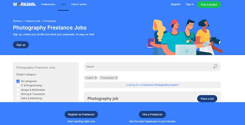 Workana Best freelance job board offering freelance work.