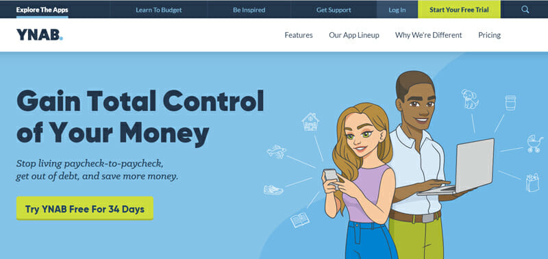 YNAB Best Accounting Software for Financial Reporting.