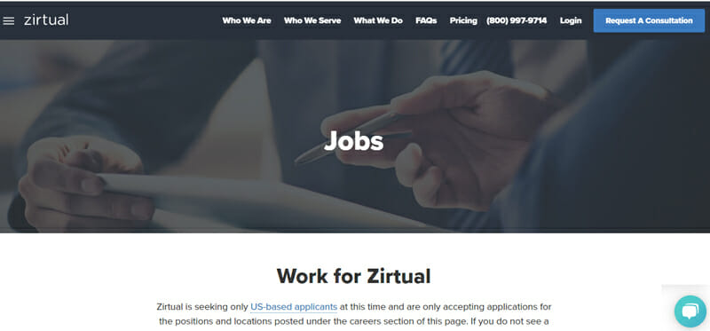 Zirtual Best freelance job board offering marketing gigs to freelancers.