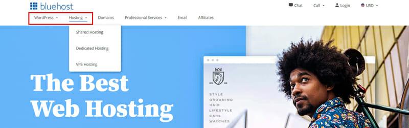 Choose best hosting plan on Bluehost