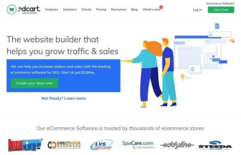 3dcart - homepage