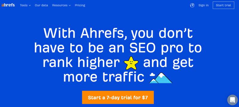 Ahrefs seo tool for rank tracking
