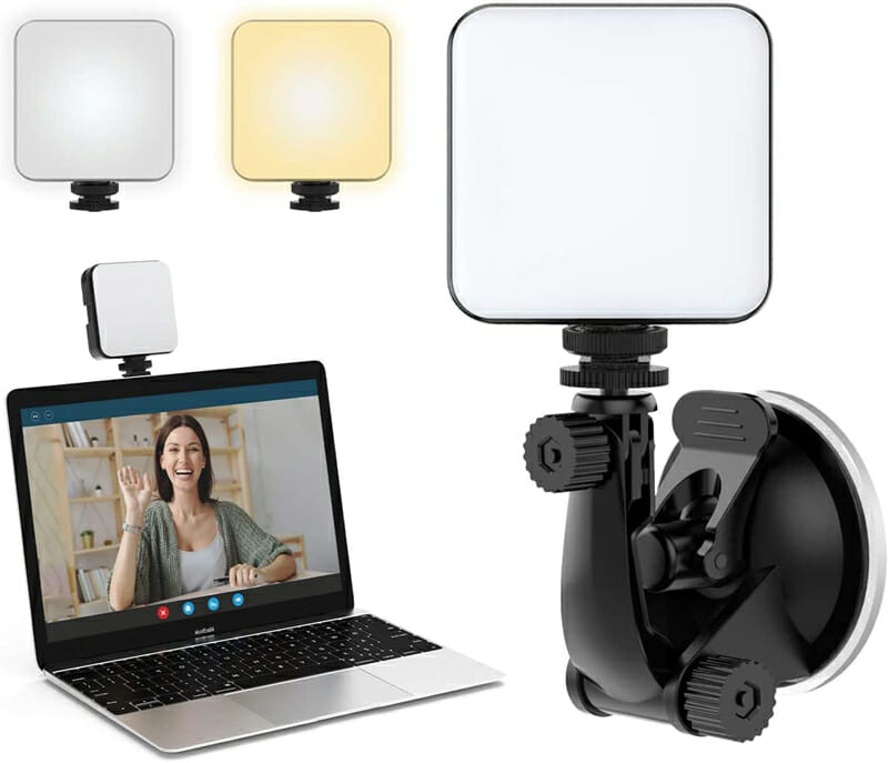 Amazon video lightning kit for better video conferences