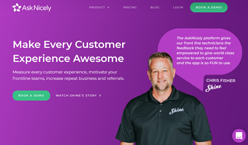 AskNicely Best Customer Feedback Management Software for Small Businesses