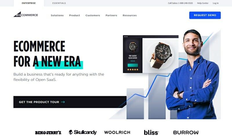 BigCommerce - homepage