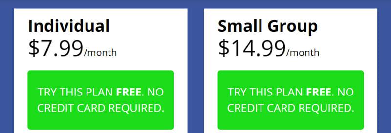 Biscom123 Pricing plan