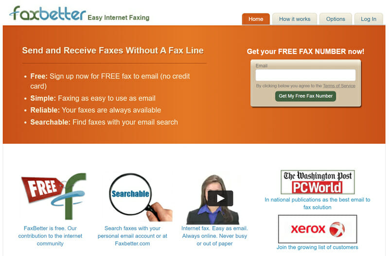 FaxBetter for businesses with large faxing needs but small budgets