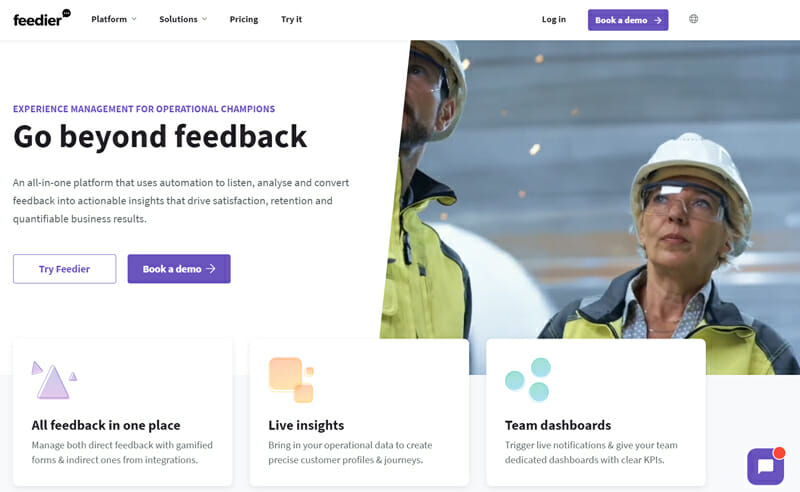 Feedier Best Survey Management Tool for B2B and Service Agencies