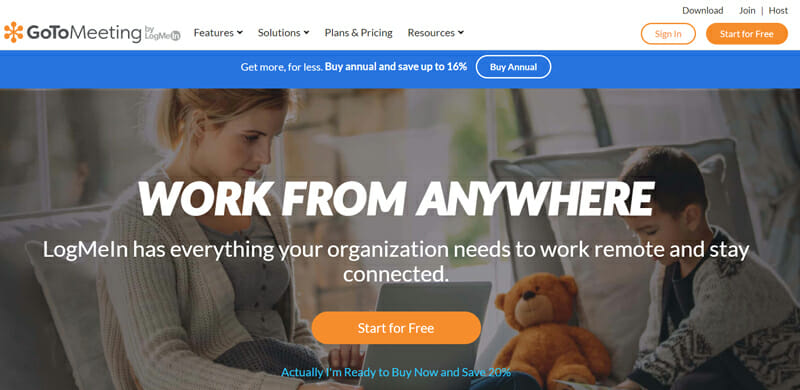 GoToMeeting Best Video Conferencing Software for Administrators and IT Managers
