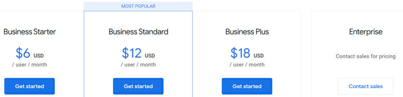 Google Forms Pricing