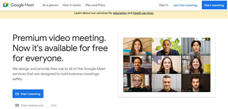 Google Hangouts Meet Best FREE Video Conferencing Software for Organizing UNLIMITED Number of Business Meetings