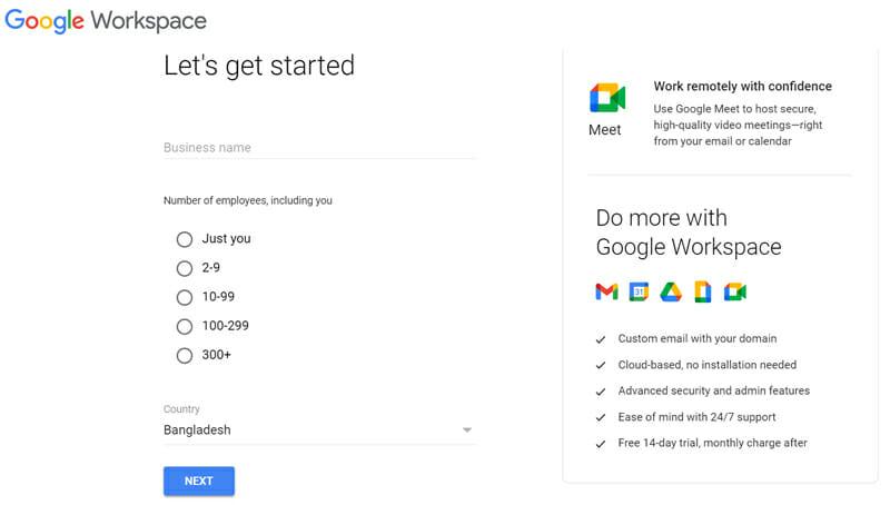 Google Meet free virsion