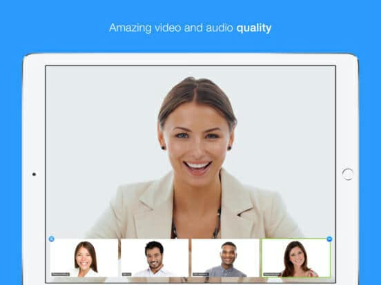 good video conferencing software should produce remarkable video quality irrespective of your chosen device
