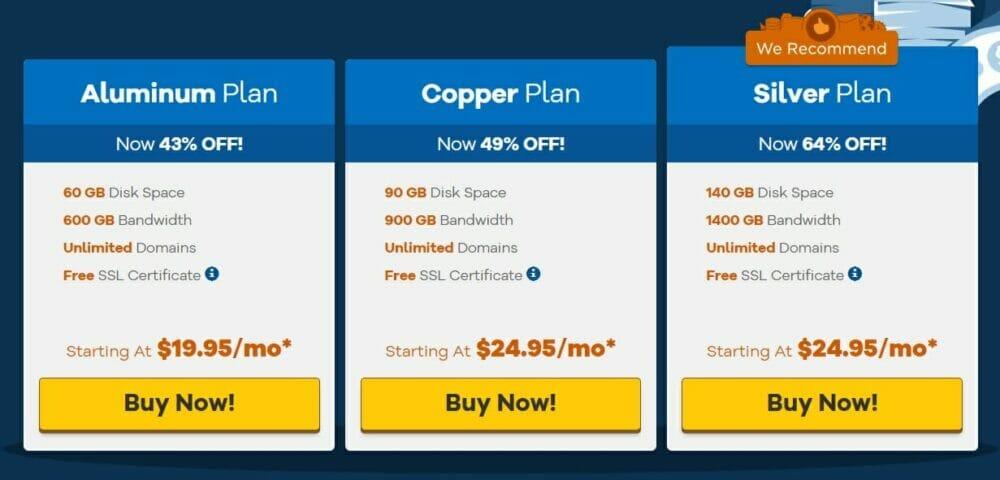 HostGator - Reseller Hosting pricing plans