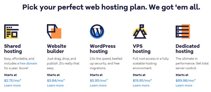 Hostgator - Pick your perfect web hosting plan