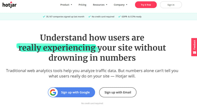 HotJar Most Suitable Survey Tool for Businesses, Online Sellers, and Digital Marketers