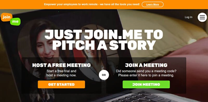 Join.me for Holding Video Conferences