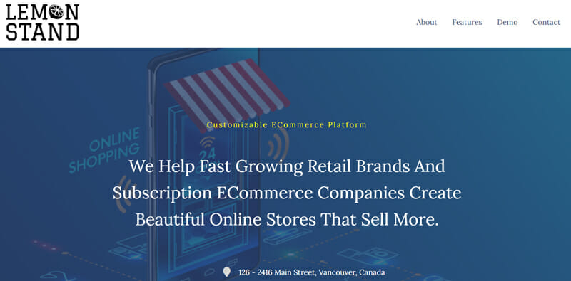 LemonStand The Ecommerce Platform Designed with the Flexibility to Help Enterprises Seeking to Boost Sales.
