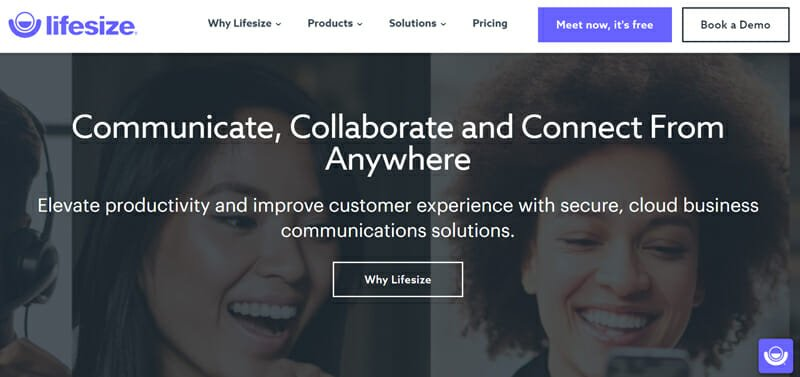 Lifesize Best Cloud-Based Video Conferencing Software for Large Online Video Conferences