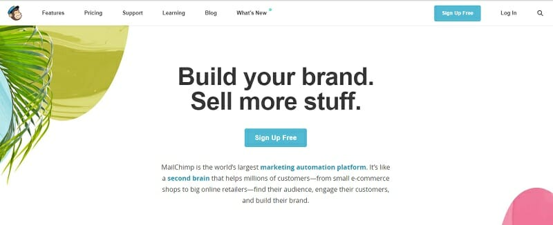 MailChimp - Build your brand. Sell more stuff.